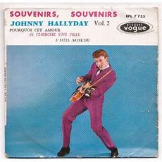 johnny hallyday vente souvenirs souvenirs vol 2 johnny hallyday 45 tours