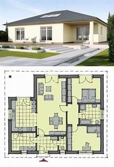bungalow haus mit walmdach architektur 3 zimmer