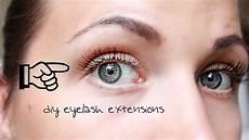 Wimpernverlängerung Selber Machen - eyelash extensions diy selber machen easy g 252 nstig und