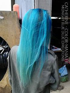 coloration cheveux bleu coloration cheveux bleu minuit directions color mania