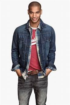 veste avec jean homme comment porter une veste en jean