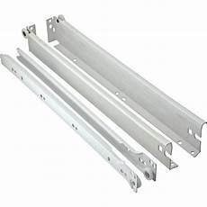 Undermount Slide Hardware by 6 Quot Hafele Metal Drawer Sides With 16 Quot Drawer Slides White