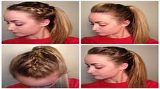 4 quick easy cute sporty hairstyles youtube