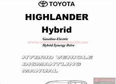 car service manuals pdf 2007 toyota highlander hybrid parental controls toyota highlander hybrid vehicle dismantling manual 2014 auto repair manual forum heavy