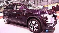 renault koleos 2018 2018 renault koleos initiale 4wd exterior interior walkaround 2017 geneva motor show