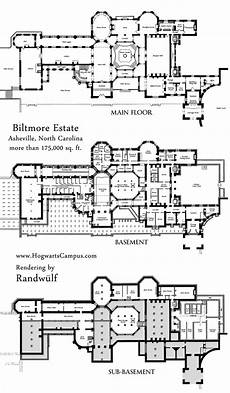 biltmore estate house plans biltmore estate mansion floor plan lower 3 floors we