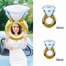 30inch 43inch balloon diamond ring shape wedding aluminum foil balloon inflatable gift birthday