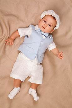 baby boy linen suit ring bearer boy baptism