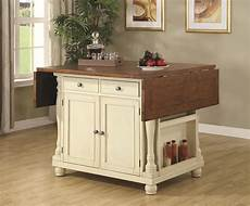 kitchen islands and carts furniture coaster kitchen carts two tone kitchen island with drop