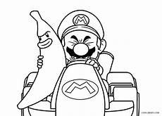 free printable mario kart coloring pages for