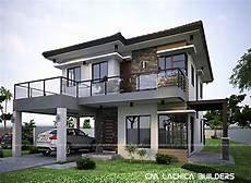 Modern House Zen 3d Floor Planhome Designing modern zen house design cm builders