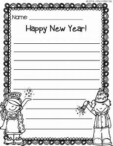 new year worksheets for grade 19410 new year s writing paper freebie learning at the primary pond