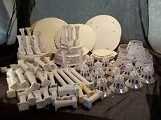 vintage cake decorating supplies wilton plates swan pillars bells bakery wedding ebay