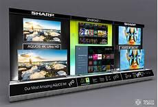 Tv Wand Kaufen - sharp electronics tv wall on behance