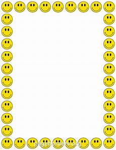 smiley border clip page border and vector graphics
