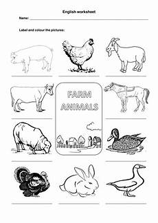 useful animals worksheets 14070 farm animals worksheet teaching resources