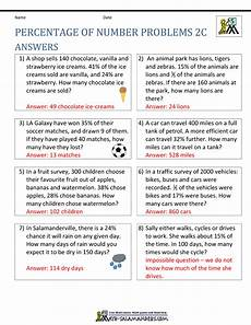 percentage word problems worksheets with answers 11172 percentage word problems