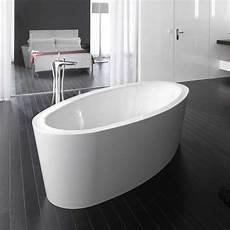 Freistehende Badewanne Preis - bette home oval silhouette freistehende badewanne wanne