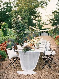 how to decorate an intimate garden wedding once wed
