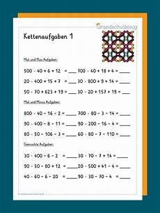 Malvorlagen Vorschule Kostenlos Testen Kostenlose Arbeitsbl 228 Tter Mit Kettenaufgaben F 252 R Mathe In