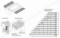 coulisse tiroir sortie totale lmc coulisse de tiroir sortie totale 30 kg longueur 550 mm