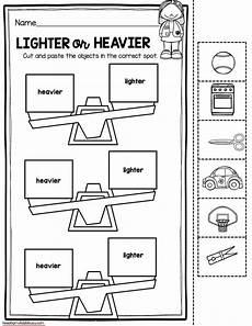 weight measurement worksheets for kindergarten 1854 measurement and data kindergarten math unit freebies with images kindergarten math units