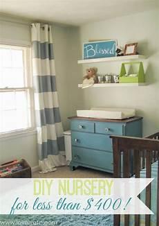 diy nursery a tiny budget lovely etc