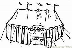 welcome to the circus coloring page free circus animals