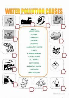 water pollution worksheet free esl printable worksheets