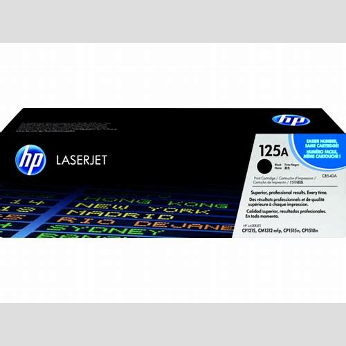 HP Toner CB540A Black 125A