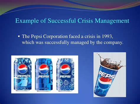Types Of Crisis Management