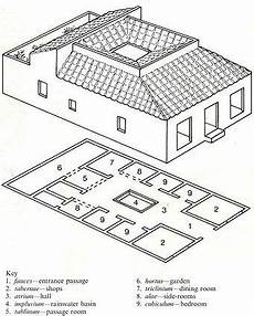 plan of a pompeian house typical pompeian house plan google search roman house