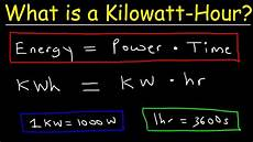 Kilowatt In Watt - what is a kilowatt hour