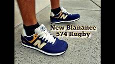 new balance 574 rugby navy yellow review on gift