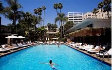 best hotel pools in los angeles travel leisure
