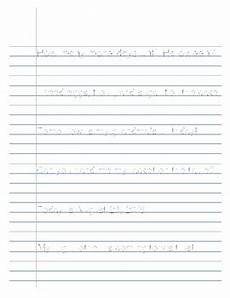 lined paper handwriting worksheets 15687 wide ruled handwriting practice sheets by ashleigh marion tpt