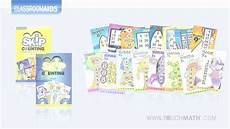 touch math skip counting worksheets 11961 touchmath skip counting poster cd sets