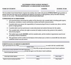 sle temporary guardianship form 9 download documents