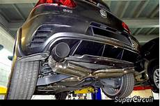 supercircuit exhaust pro shop vw golf 6 gti canister