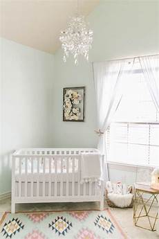 a light and airy nursery tour baby room colors pastel nursery room