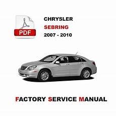 electric and cars manual 2007 chrysler sebring on board diagnostic system chrysler sebring 2007 2008 2009 2010 service repair workshop manual ebay