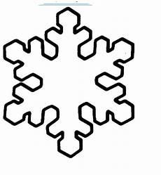 Schneeflocke Malvorlage Einfach Schablone F 252 R Schneeflocken Basteln Geschenk Vorlage