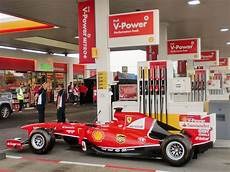 Shell V Power Just Another Day At A Shell Station With