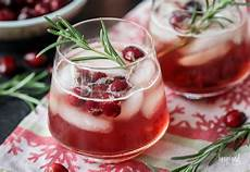 maple cranberry bourbon cocktail holiday cocktail recipe