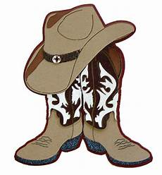 Clipart Of Cowboy Boot