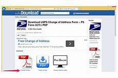 how to print a change of address form from the us office techwalla com