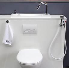 douchette pour wc suspendu blanche wici concept