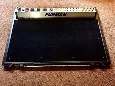 furman pedal board furman spb 8c powered stereo pedalboard w reverb