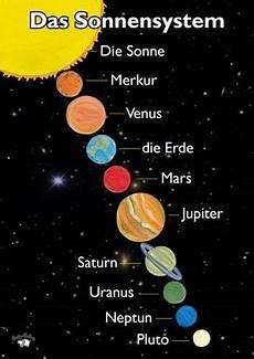unser sonnensystem hier findet ihr alle planeten