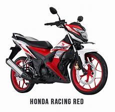 Modifikasi Sonic 2018 by Warna Baru Honda Sonic 150r 2018 Merah Putih Velg Merah